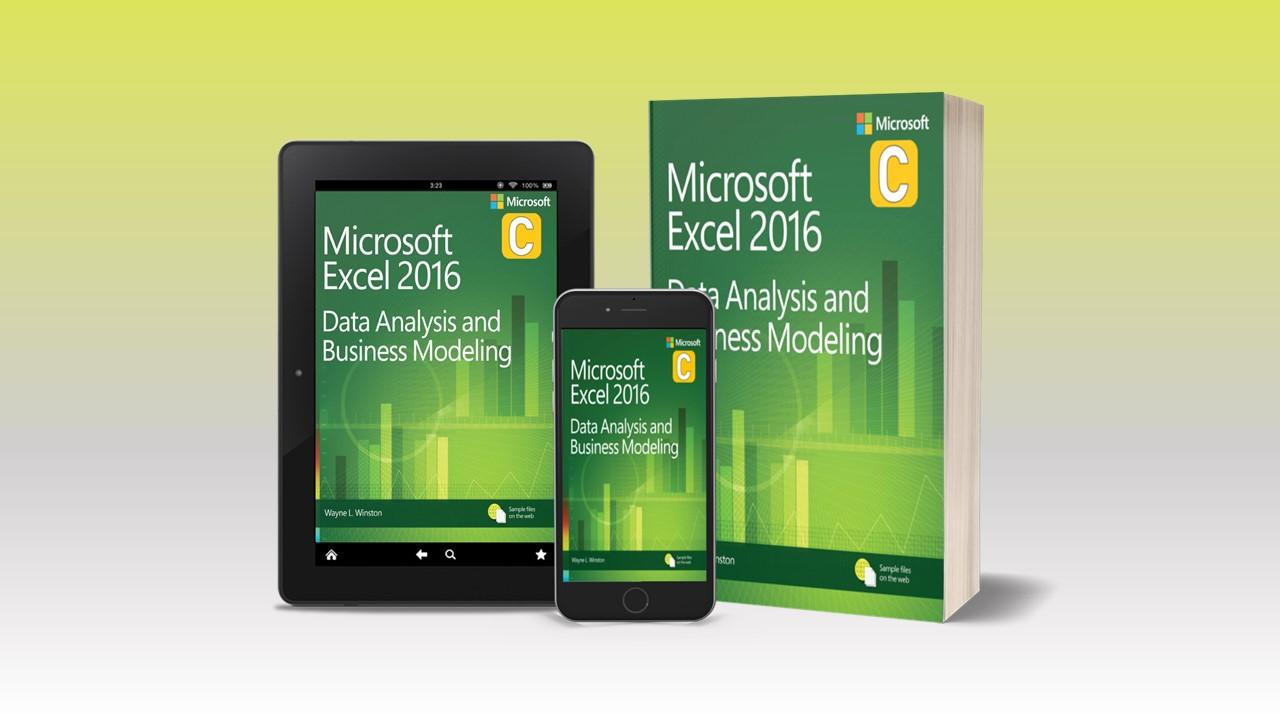 كتاب الاكسل لتحليل البيانات وانشاء نماذج الاعمال