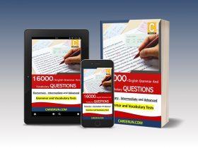 كتاب التدريب على قواعد وكلمات اللغة الانجليزية من كاريرن