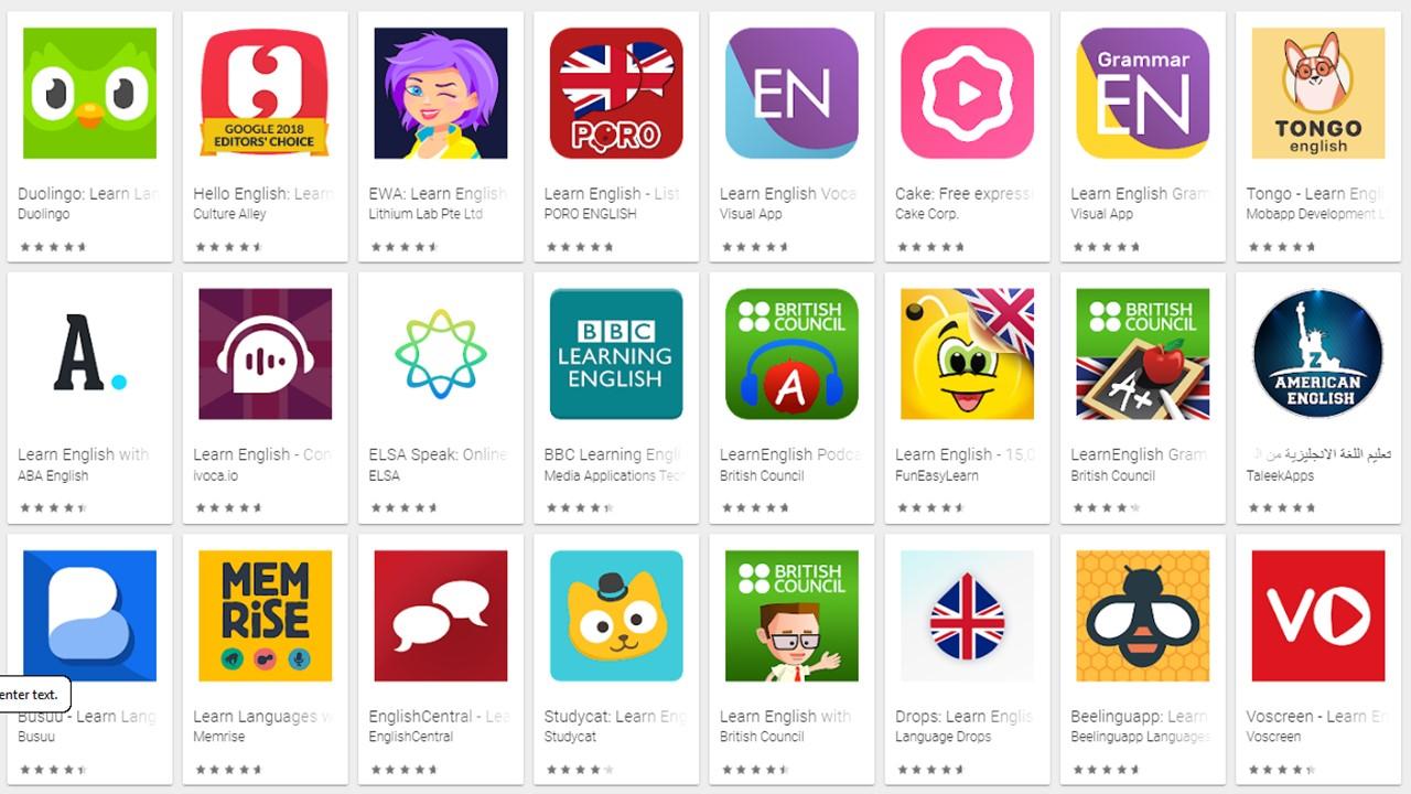 افضل 10 تطبيقات لتعلم اللغة الالنجليزية لعام 2022